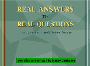 Real Answers To Real Questions - Compiled & Written by Nancy VanReece